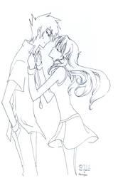 Collab : GrBr : Kiss me