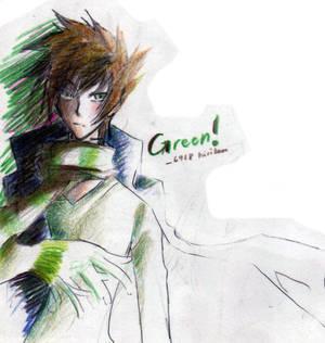 6918 kiriban : Green