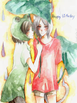 HBD to Frog-chan