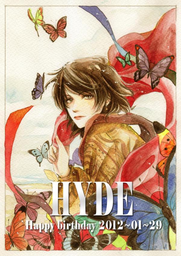 HYDE :: Happy 2012 birthday by BlueMarina