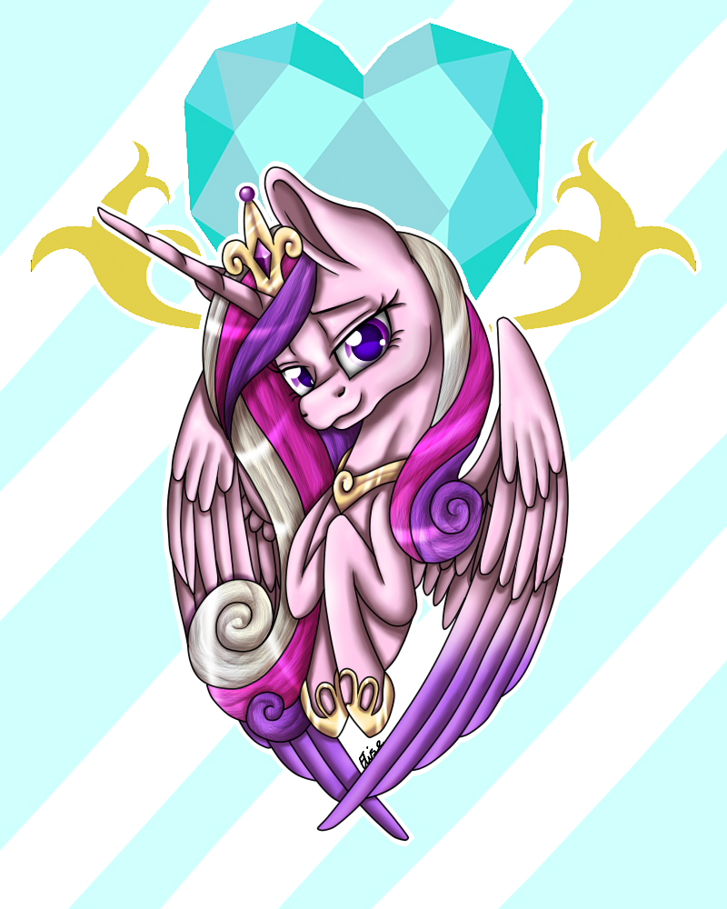 Cadance's Love by InspiredPixels