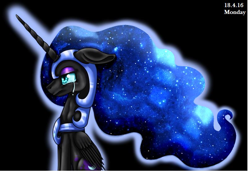 Nightmare Moon by InspiredPixels