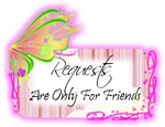 Requests are only for friends by safire-star