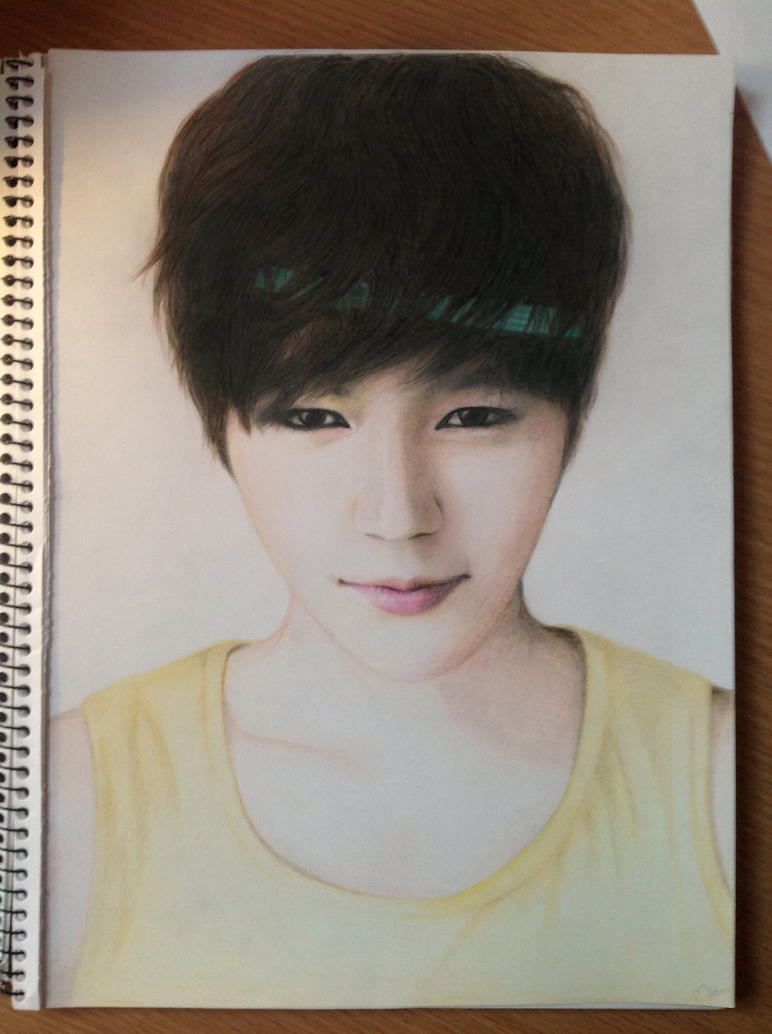 Kim Myungsoo (Infinite's L) - again ^^ by minikaaa