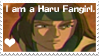 Haru Fangirl Stamp by PuffyFan1215-Stamps