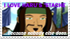 Haru's 'Stache Stamp by PuffyFan1215-Stamps