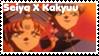 Seiya X Kakyuu Stamp