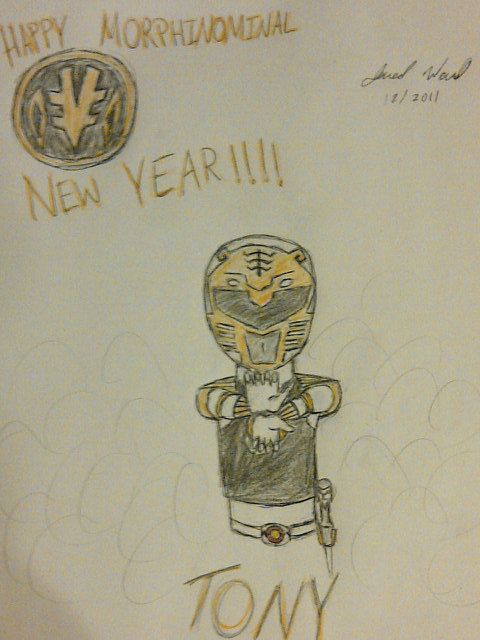 Happy MORPHINAMINAL New Year by Jred20