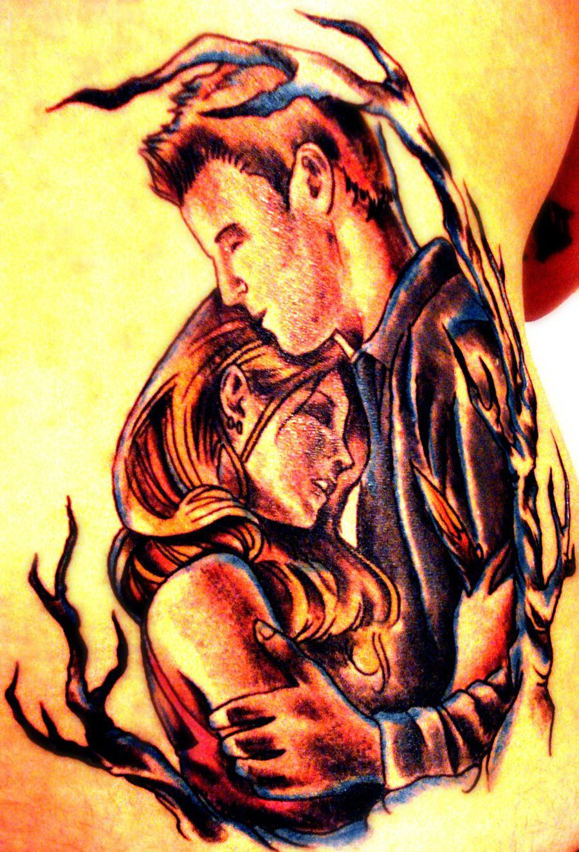 Buffy and angel tattoo by mxsavn31 on deviantart for Buffy angel tattoo