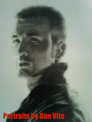 Chris Evans Sketch by MXSAVN31