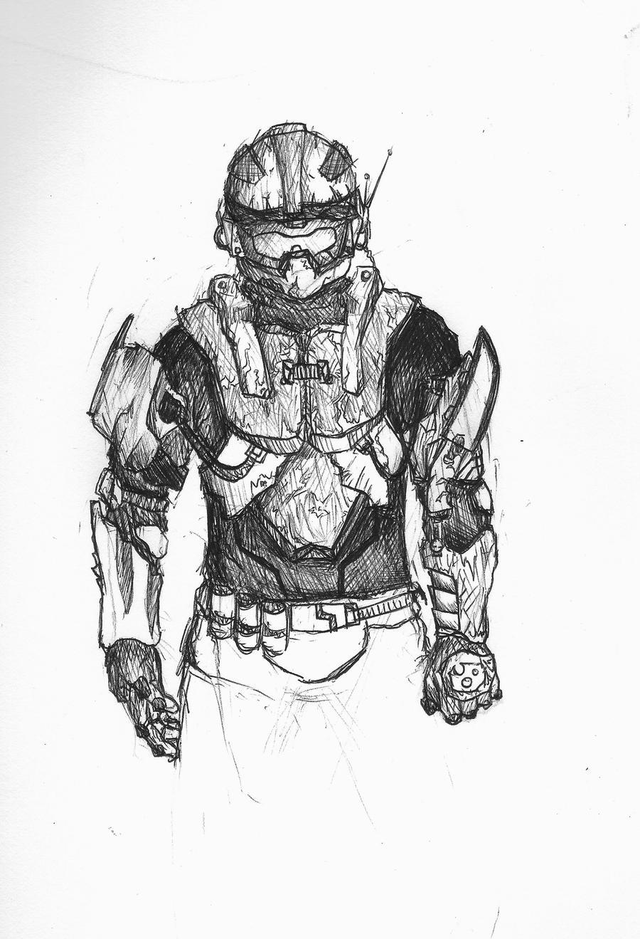 My Spartan, Halo .unfinished. by eat2ramen on DeviantArt