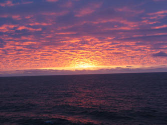 Sky+Sea+Sunset Stock 3 by Toushi-Kun