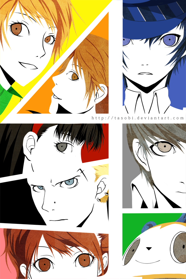 Persona 4 - Technicolor by tasobi