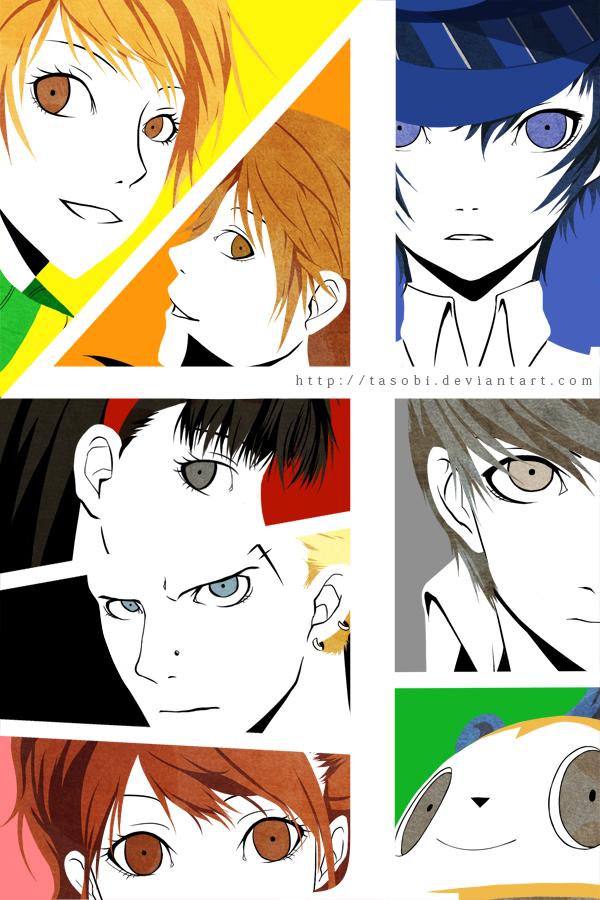 Persona 4 - Technicolor by tasobi