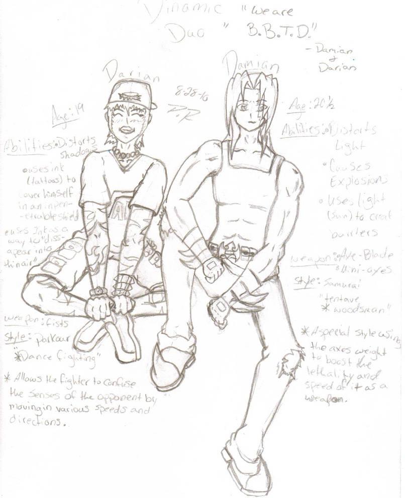 Damian and Darian Bios