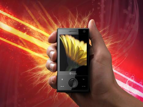HTC Touch Diamon Wallpaper by bigdd