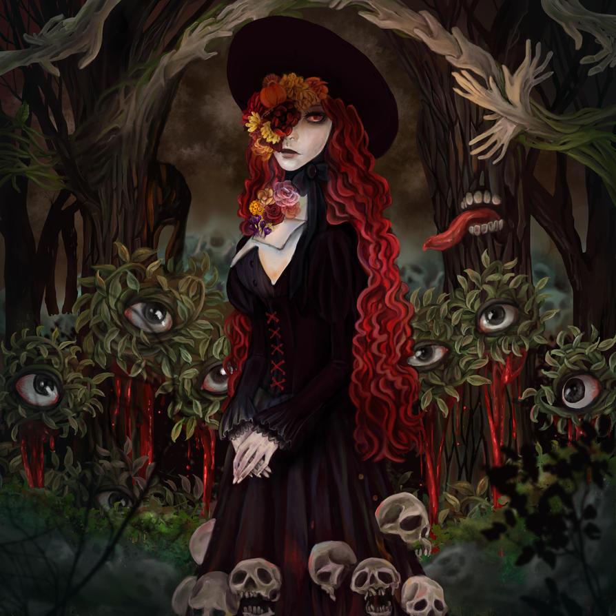 Prejudgment Garden by AnnCrane