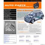 Buy AutoParts Online -Layout