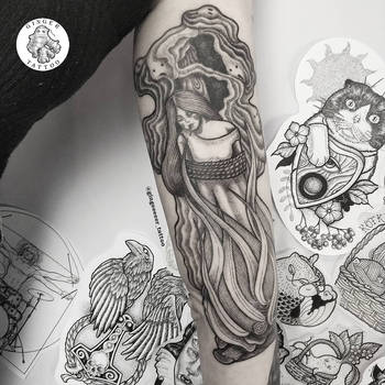 Witch by GingeeeeerTattoo