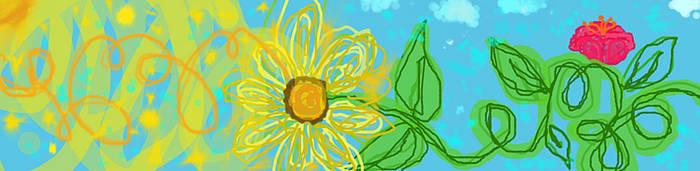 Sunflower Sunshine Squiggle by Sarcastic-Ninja