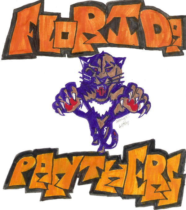 Flordia Panthers by wolfess605