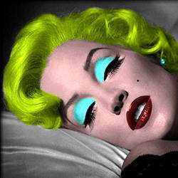 Lisa Marie as Warhol Marilyn by Kaze-Tamashii