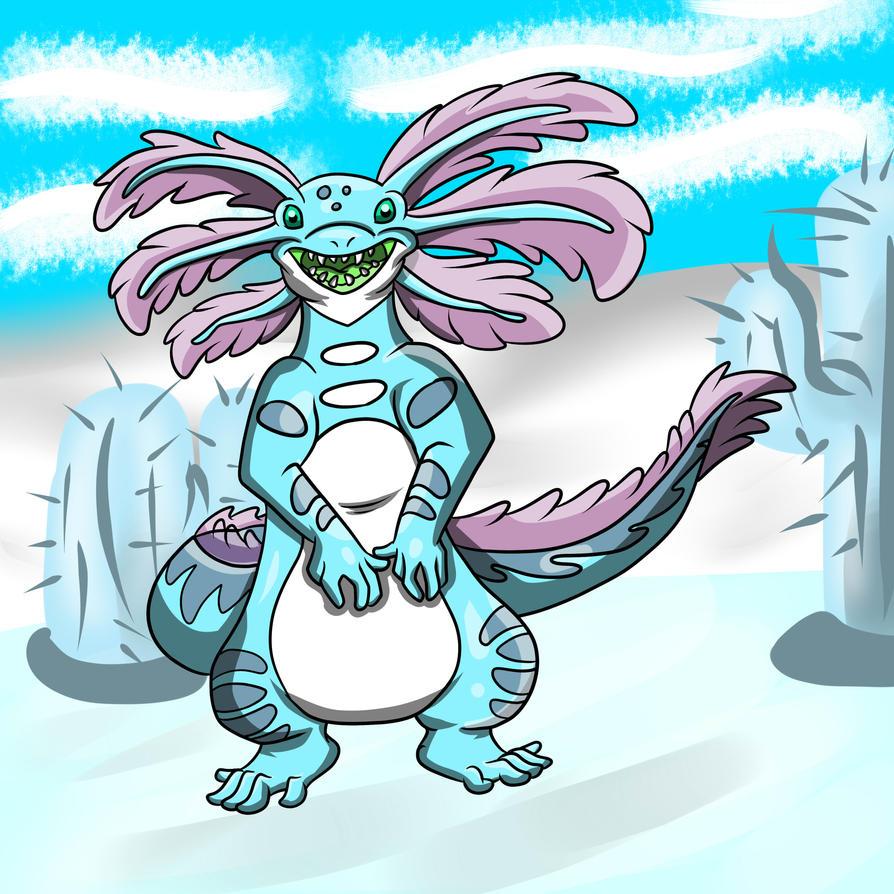D-063: Cryolotl's Winter Wonderland by tombola1993