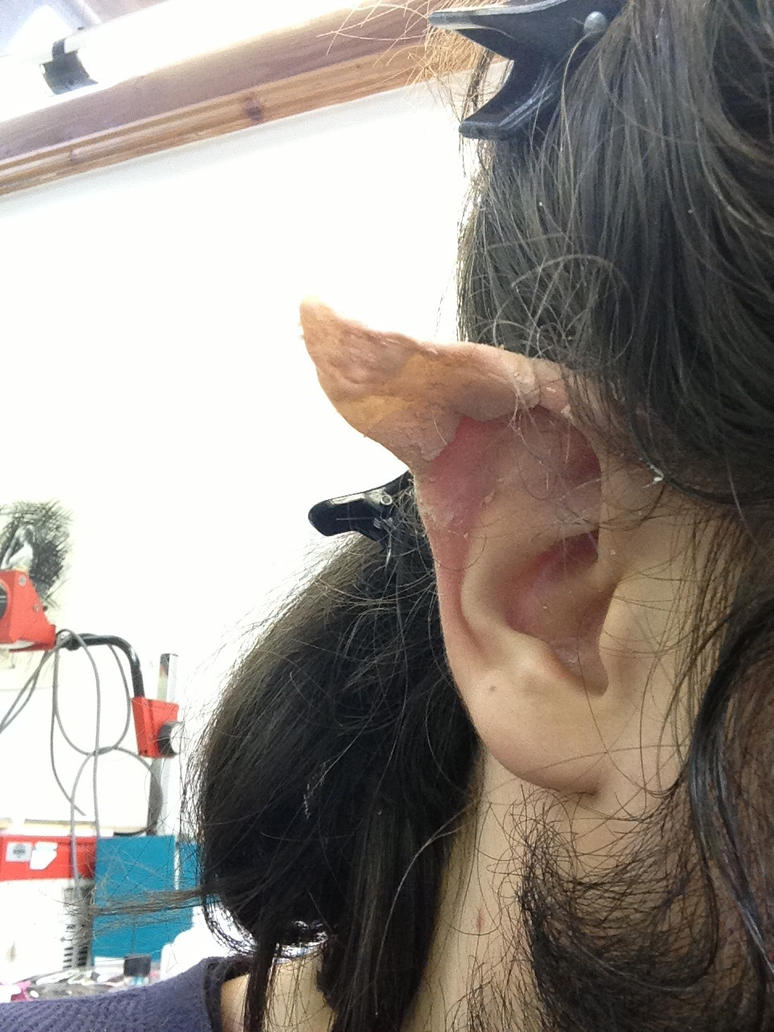 Elf ear make up by tombola1993