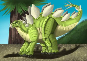 Grove the Stegosaurus 2021 update