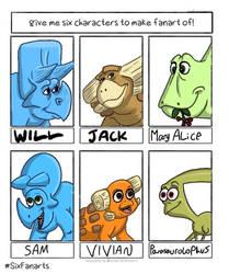 The Good Dinosaur - Unused Characters