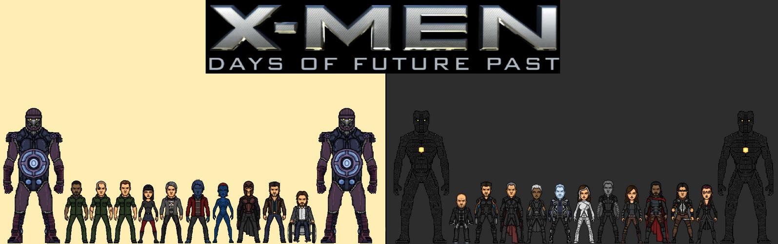 X men days of future past ink