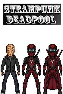 Steampunk Deadpool by doctorstrange7