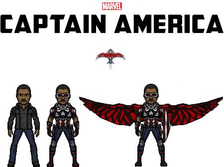 captain america (sam wilson) by doctorstrange7