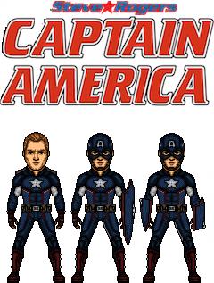 Captain America(steve Rogers) by doctorstrange7