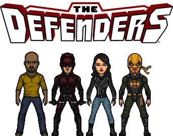 Defenders by doctorstrange7