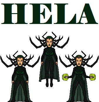Hela(thor ragnarok) by doctorstrange7