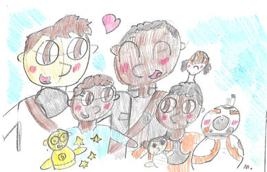 Dameron Family by ptitemouette