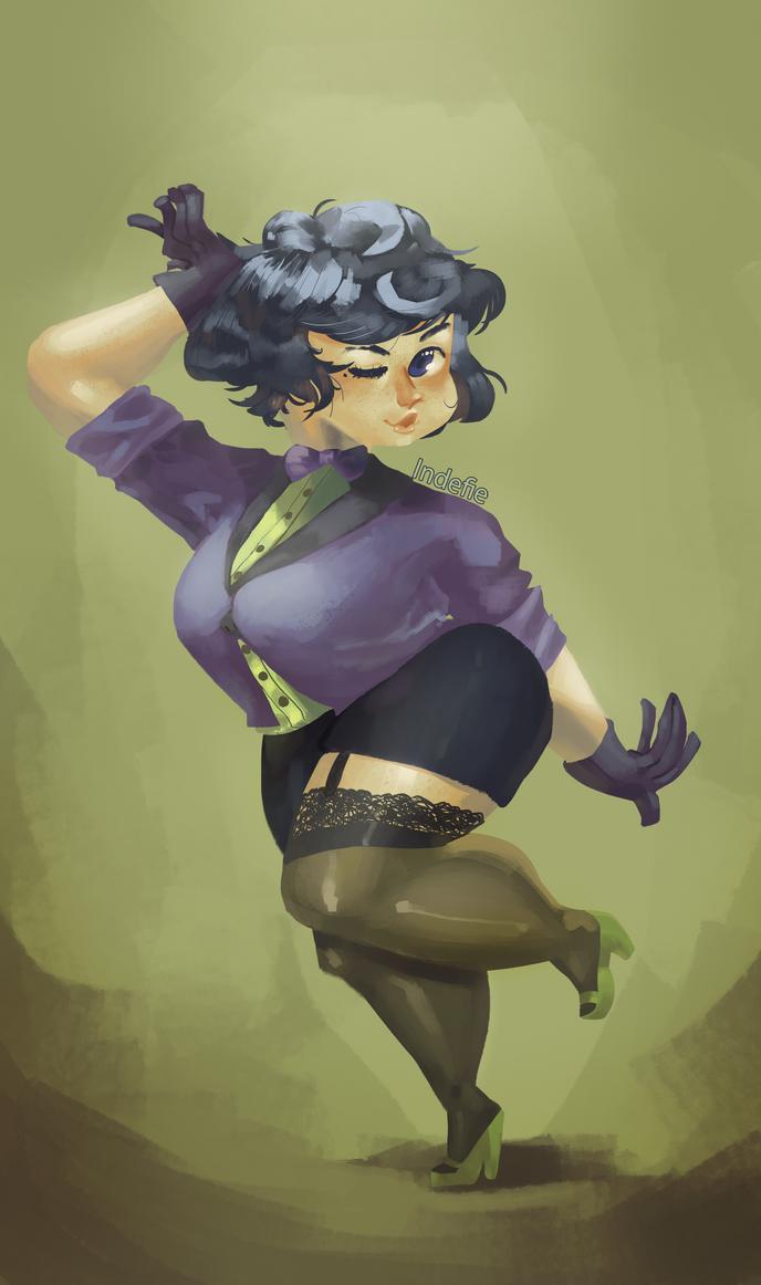 Green 'n Purple by Indefie