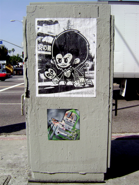 Street Poster by Blinky1