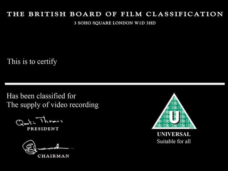 Bbfc u certification card by levelinfinitum on deviantart bbfc u certification card by levelinfinitum yadclub Choice Image
