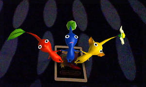 AR Games - Pikmin card