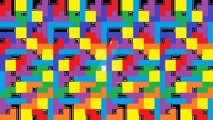 Tetris Pattern Background
