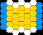 Blockbusters Blank Game Board (Enhanced)