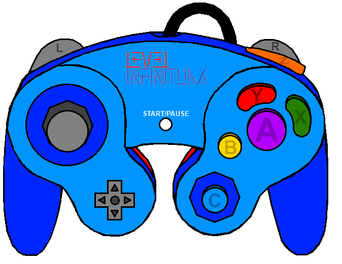 level infinitum gamecube controller by levelinfinitum on deviantart