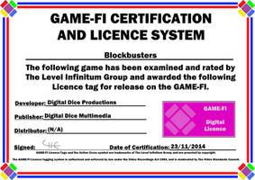 Blockbusters Game-Fi Certificate