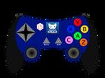 Joshtech Kadox Controller (Blue)