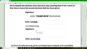 Vesung Counter Signature