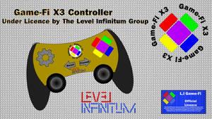 Game-Fi X3 Controller Box (Yellow)