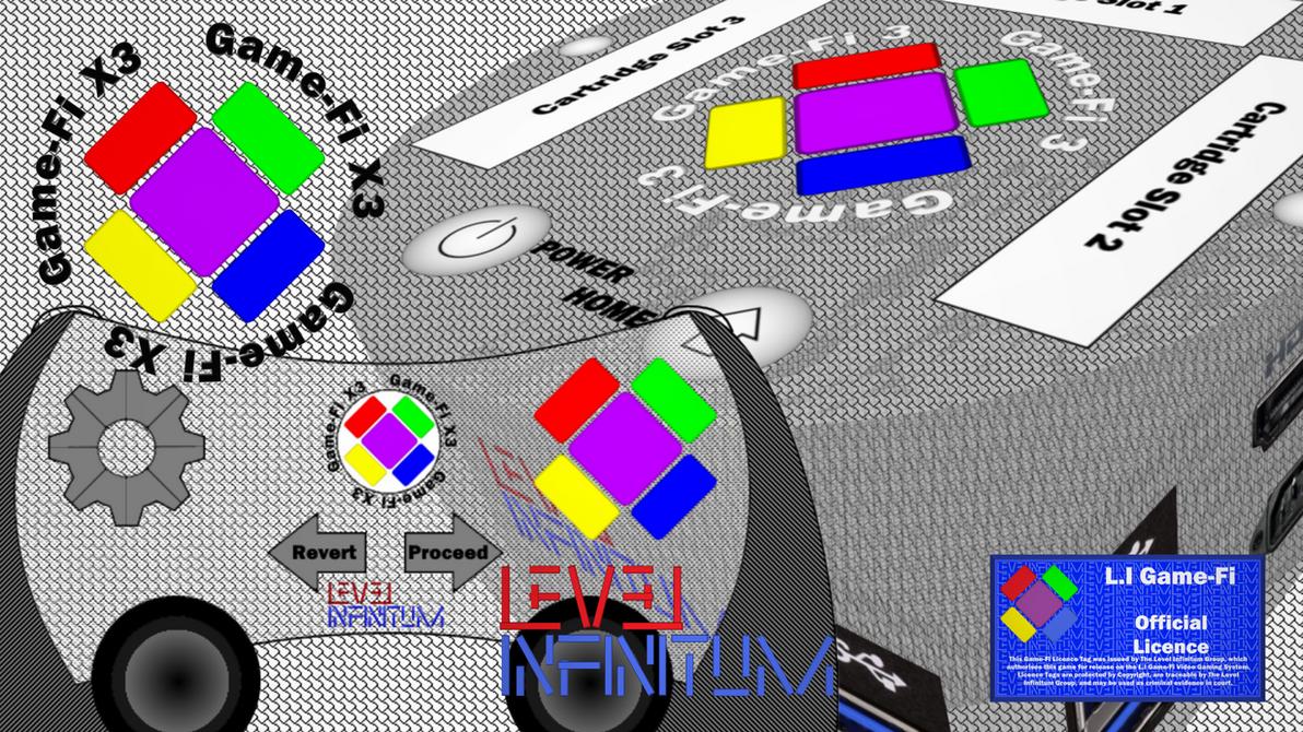 Game-Fi X3 - Translucent White Box Art by LevelInfinitum