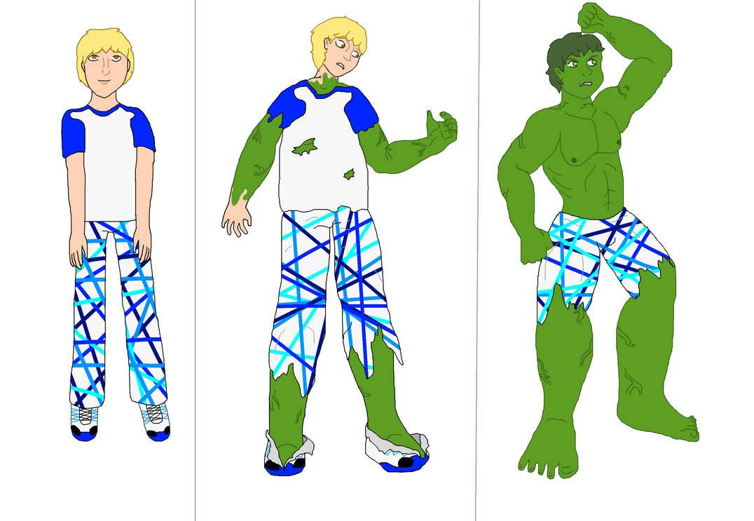 OC No. 17) Chris Harvey - Hulk Sequence by LevelInfinitum